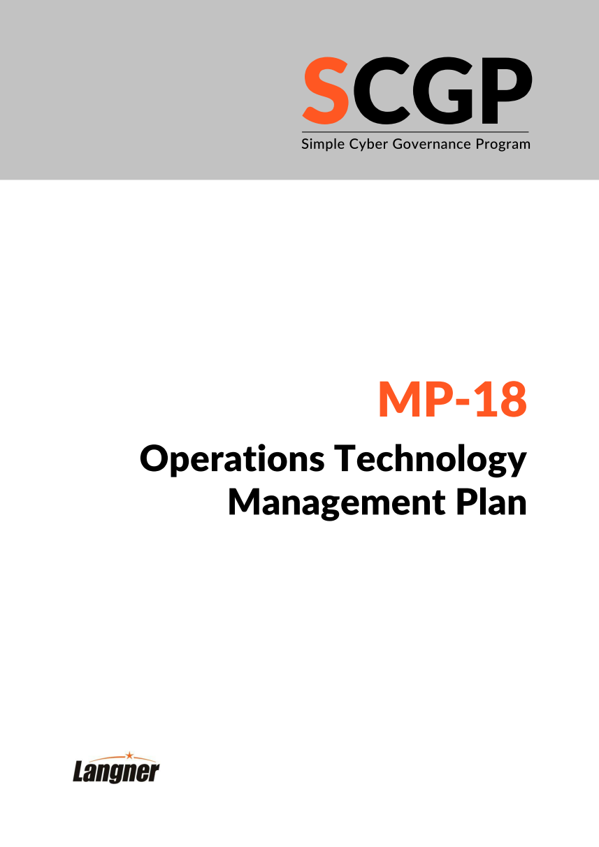 Ot Ics Security Policy Templates That Will Save You Man Years Of Labor Data Template High Level Management Plan