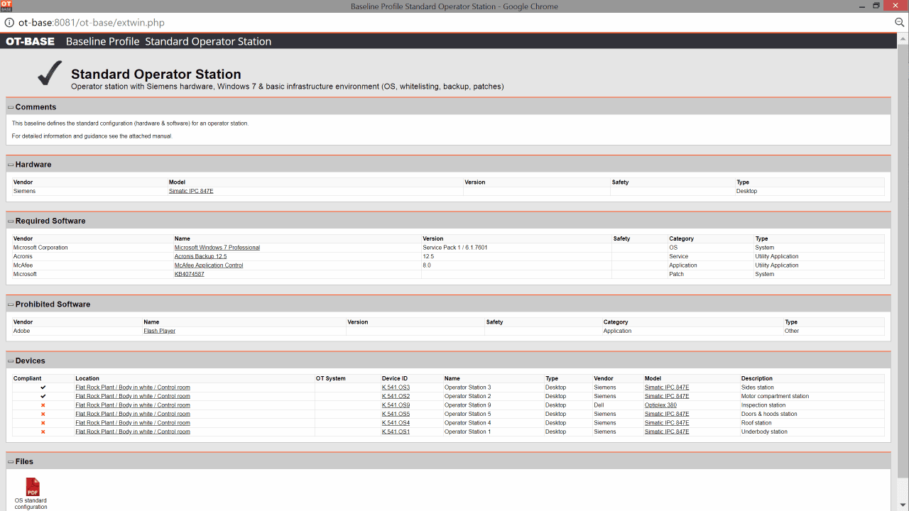 Lean OT/ICS asset management & inventory software by Langner